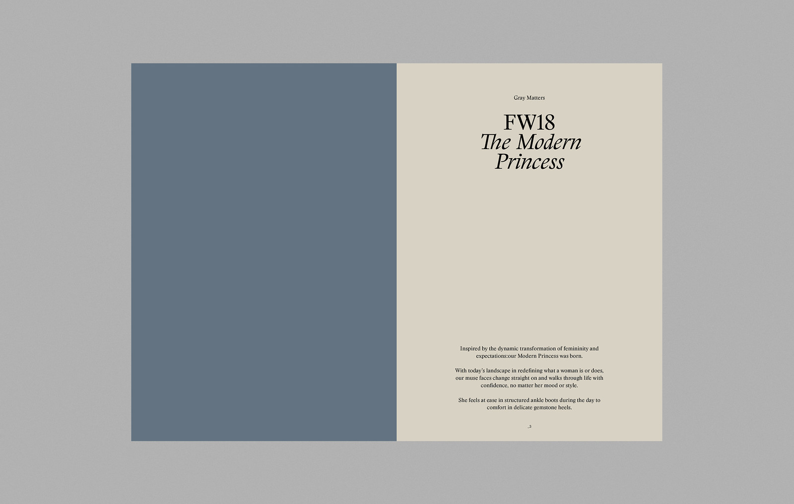 Gray Matters FW18 Lookbook