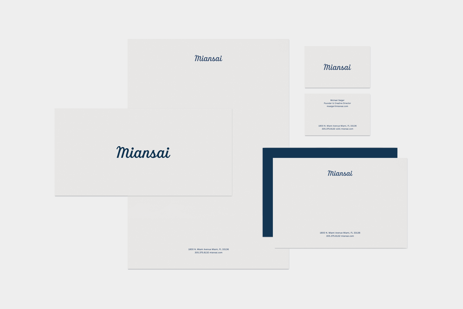 Miansai Identity & Packaging