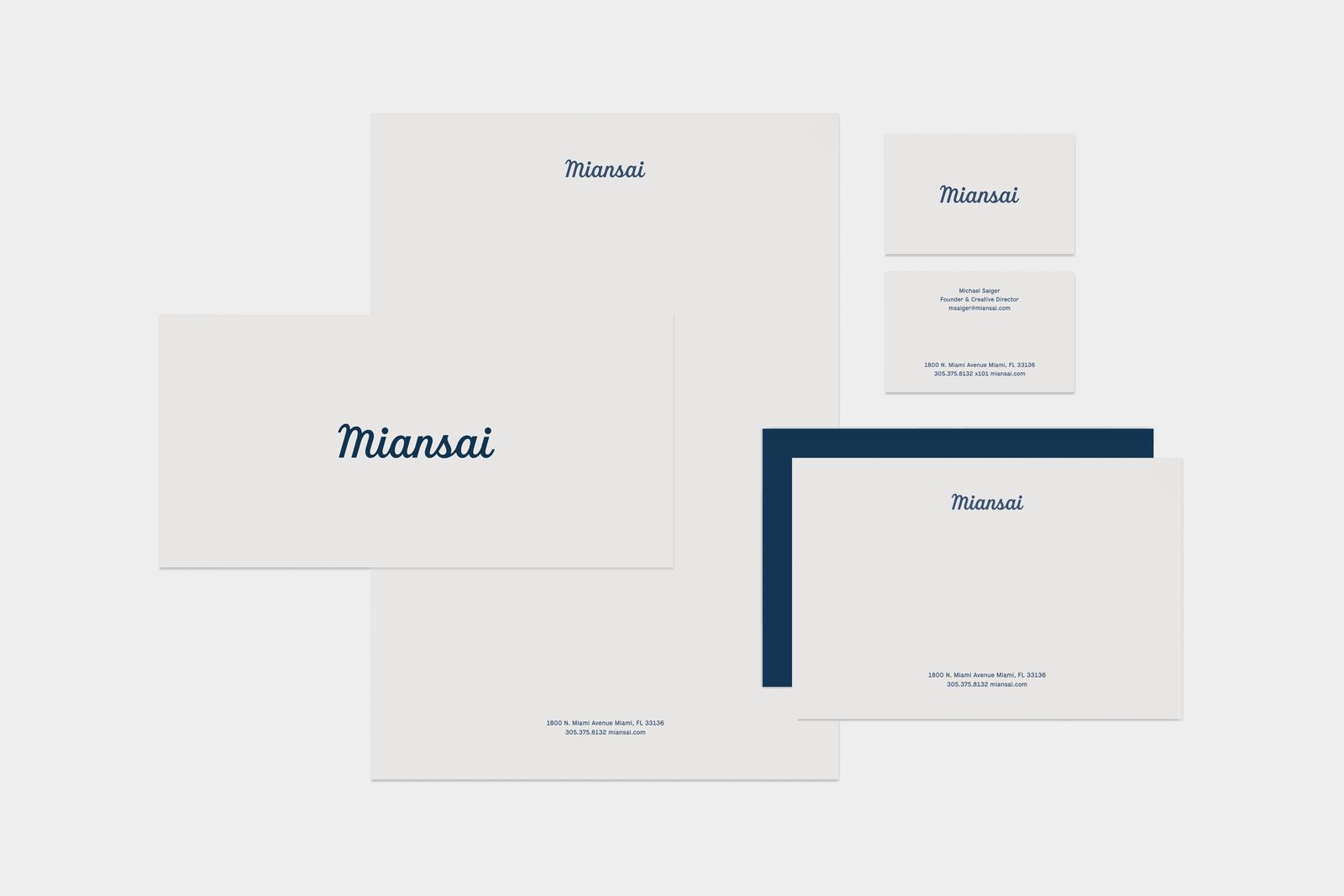 Miansai Identity & Packaging